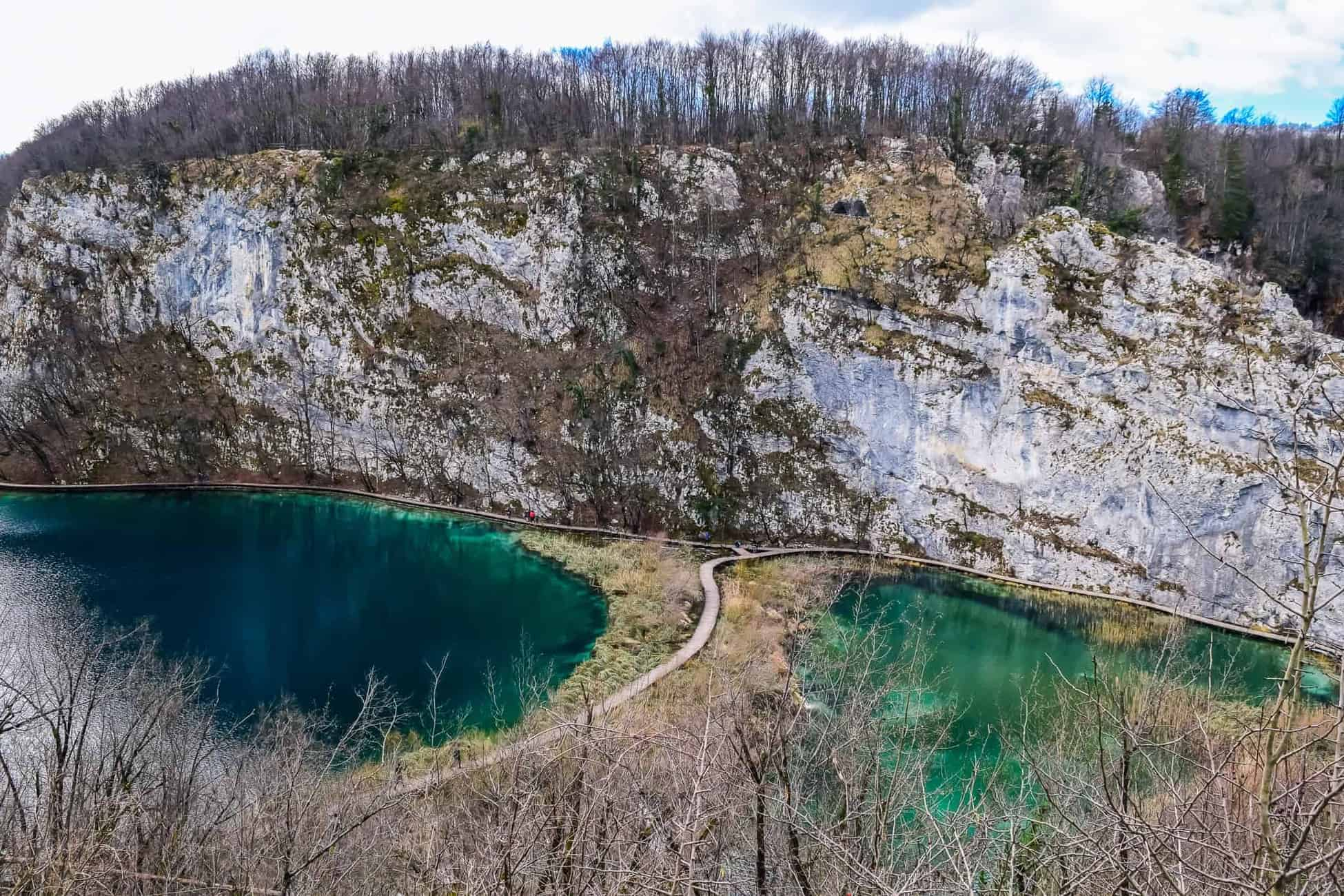 Viewpoint in Plitvice National Park