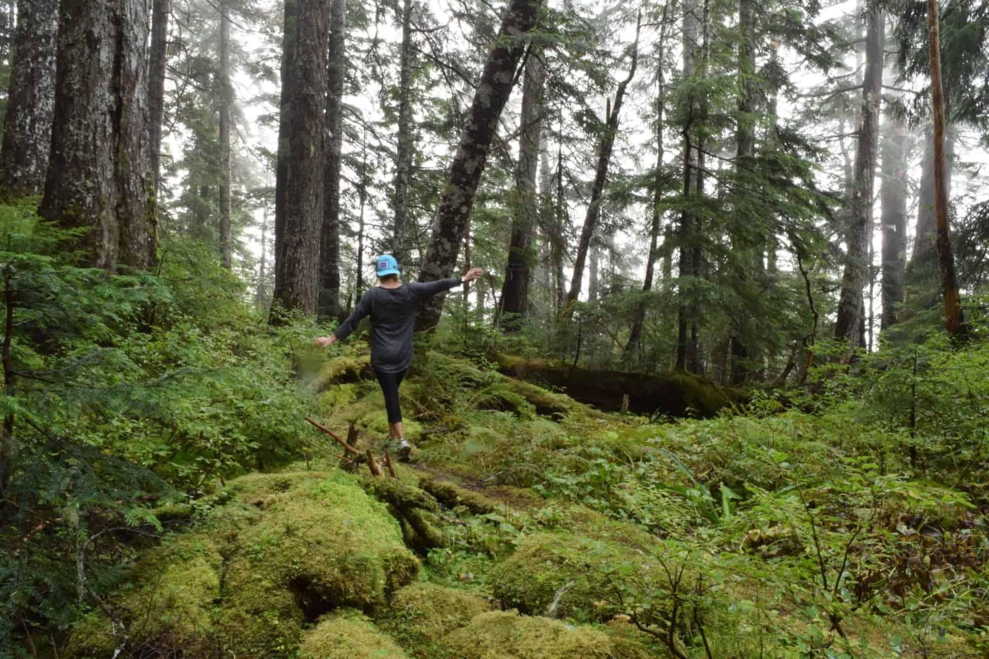 Hiking in Prince Rupert Canada