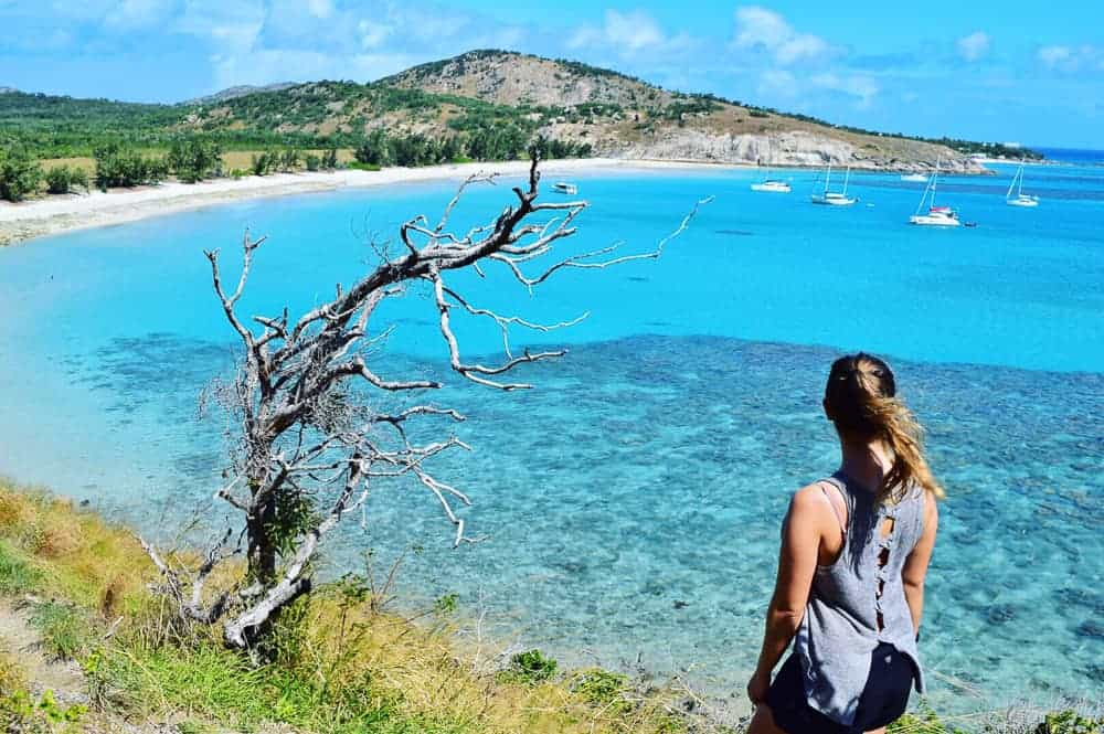 Hiking on lizard island