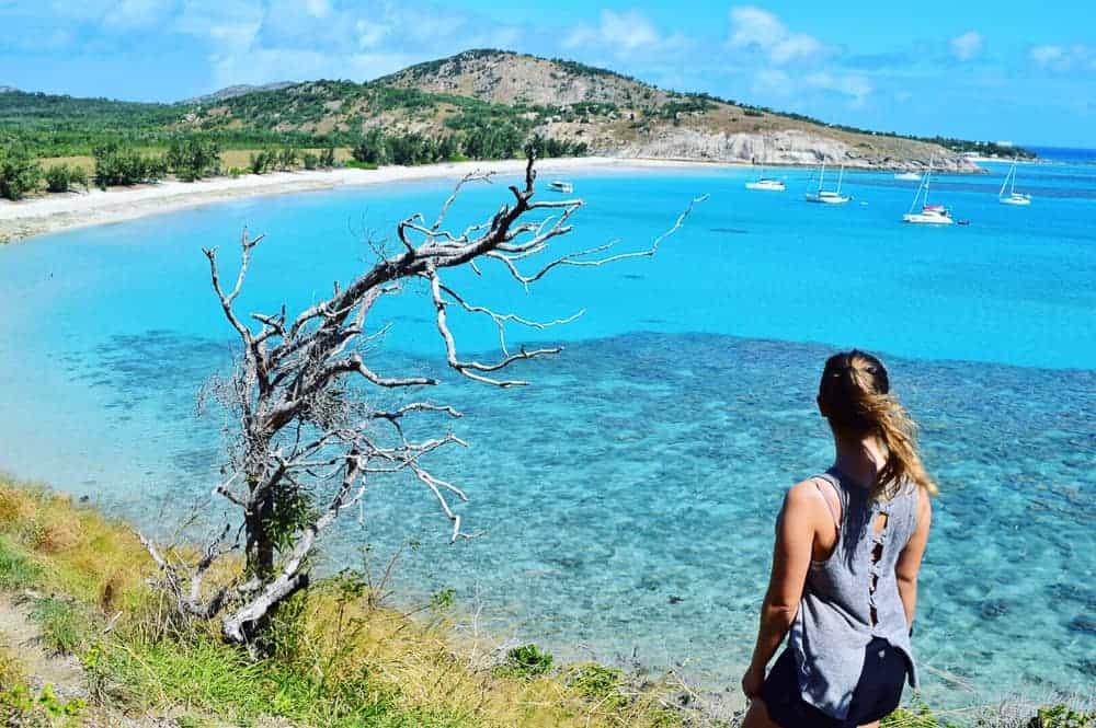 Hiking on lizard island