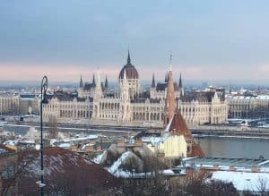Travel to Budapest Hungary for incredible architecture like this