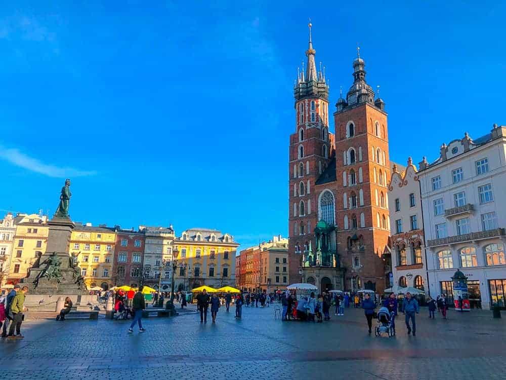 Krakow Old Town. Photo by Dashing Around the World.