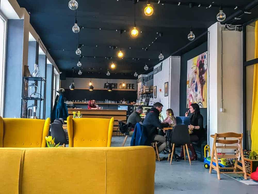 Arch Caffe in Liptovsky Mikulas interior