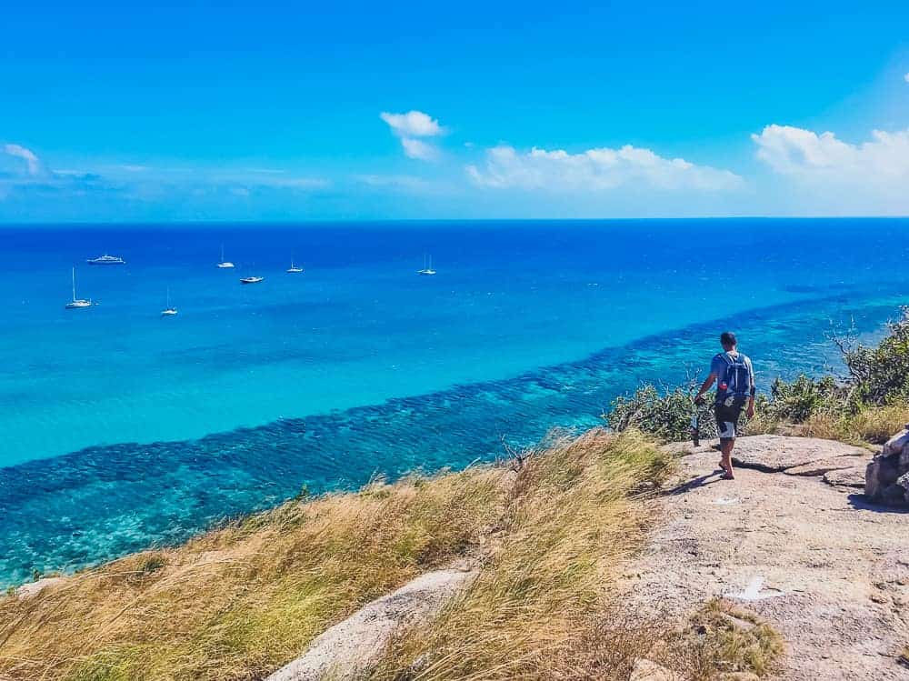 Hiking adventures on Lizard Island