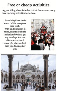 Istanbul Ebook page: Free and cheap activities