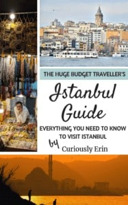 Huge Budget Traveller's Istanbul Guide Ebook Cover Image