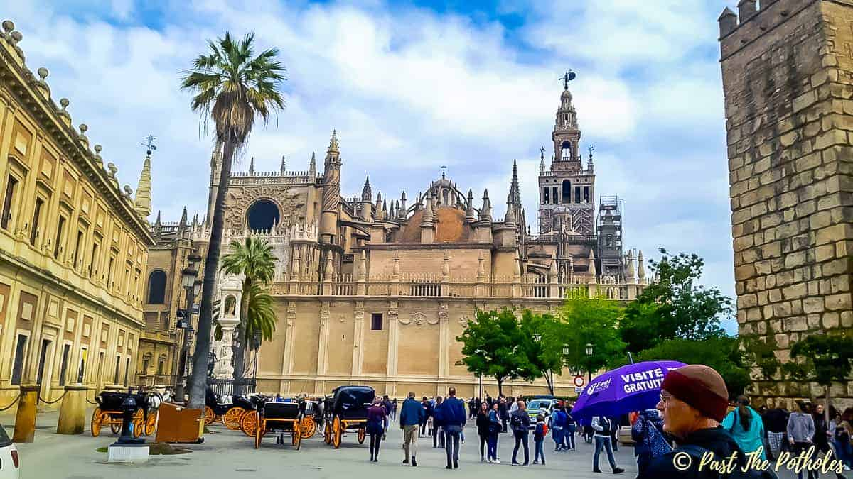 Seville Feel the City Monuments Free Walking Tour. Photo by Claire at Past The Potholes.