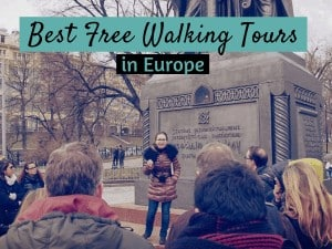 Free Walking Tour in Europe Featured Image