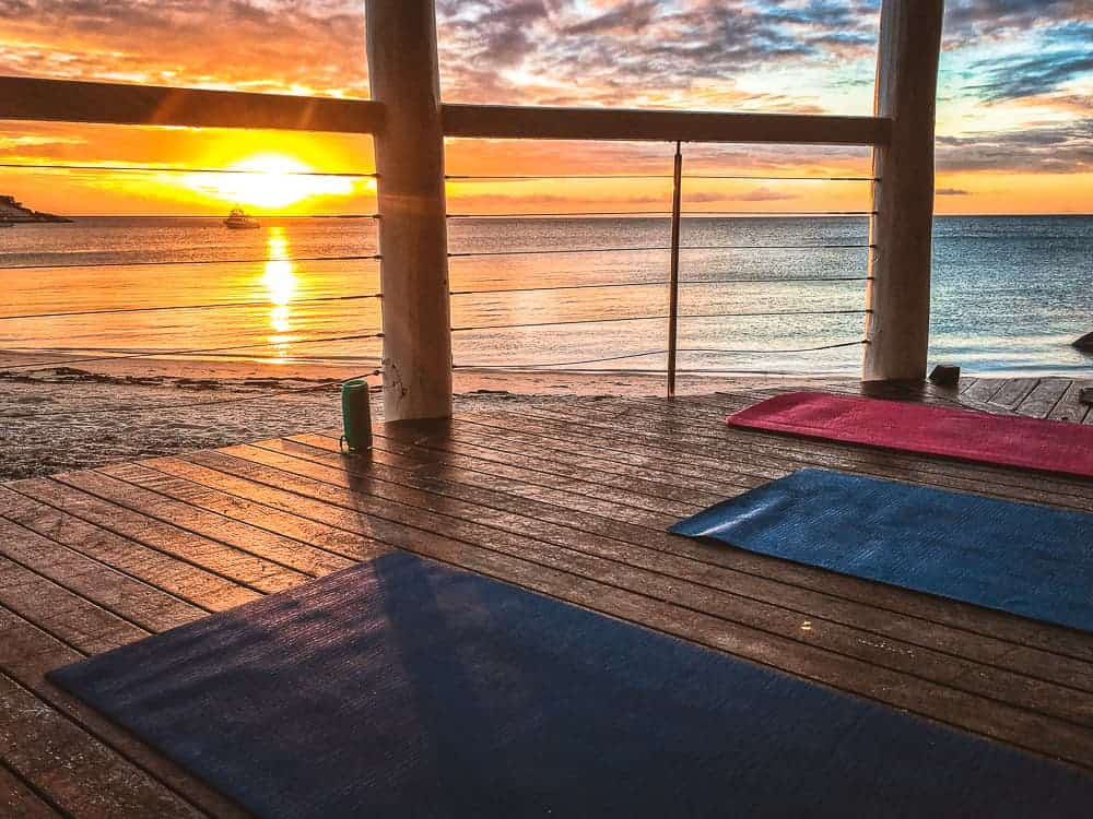 Are you a yoga instructor? One of the island jobs you can apply for.