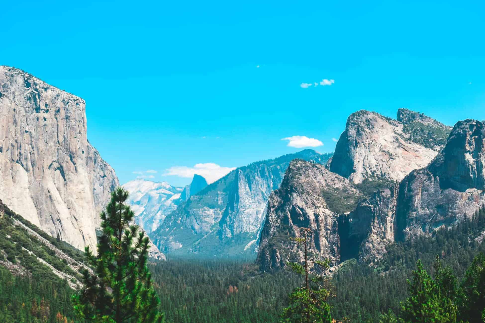 No California road trip would be complete without a visit to Yosemite