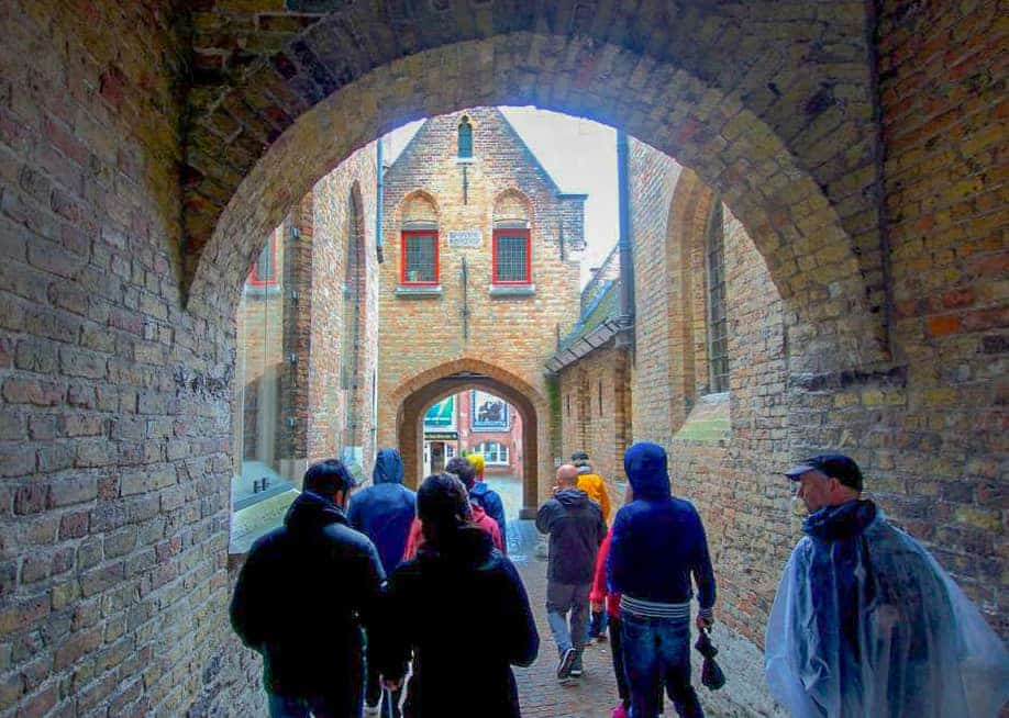 The Legends of Bruges Free Walking Tour. Photo by Michelle at Intentional Travelers