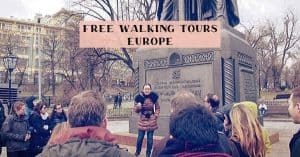 Europe's best free walking tours