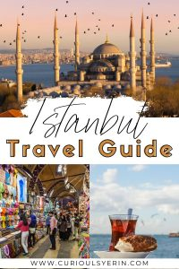 Do you need inspiration for your next trip? Why not visit Istanbul? This European city is on the bucket list of many and for good reason. It's where east meets the west. In this article get tips for visiting Istanbul, where to eat in Istanbul, where to stay Istanbul, the best walking tours (some are free!) and how to make the most of your travels to Turkey. Spend at least 3 days in Istanbul a week if you can #Istanbultravel #Travelturkey #Istanbulguide #thingstodoinistanbul