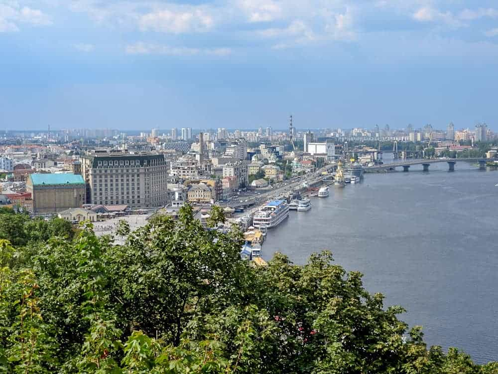 The Modern Kiev Tour. Photo by Carly at Fearless Female Travels