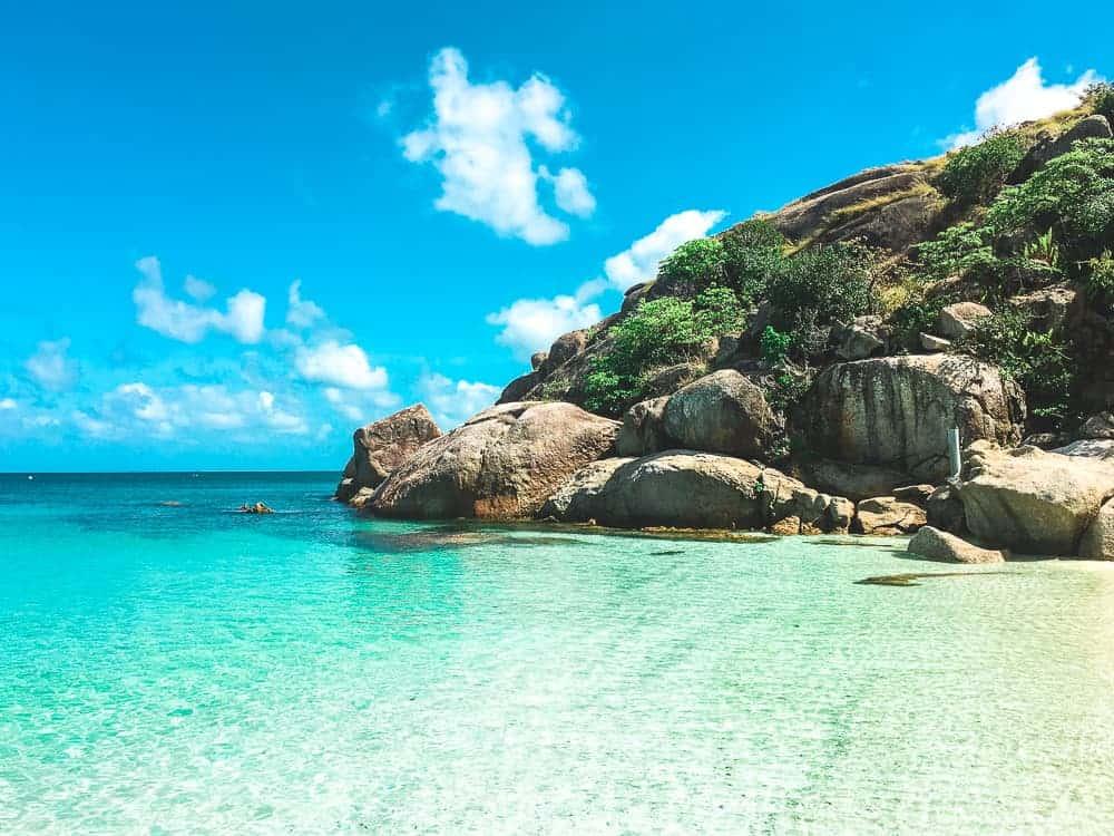 Staff beach on Lizard Island