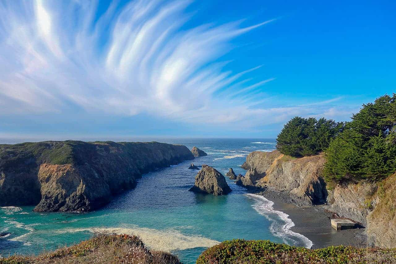 Beautiful northern California beaches