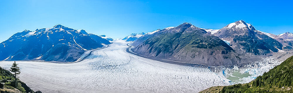 Views over Salmon Glacier