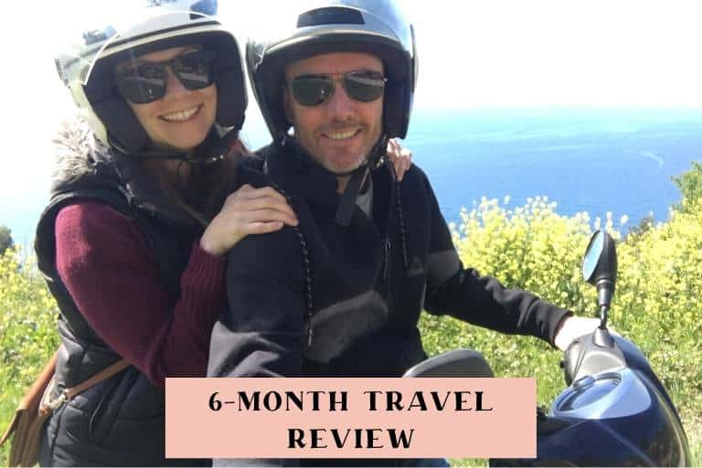 6-month travel review