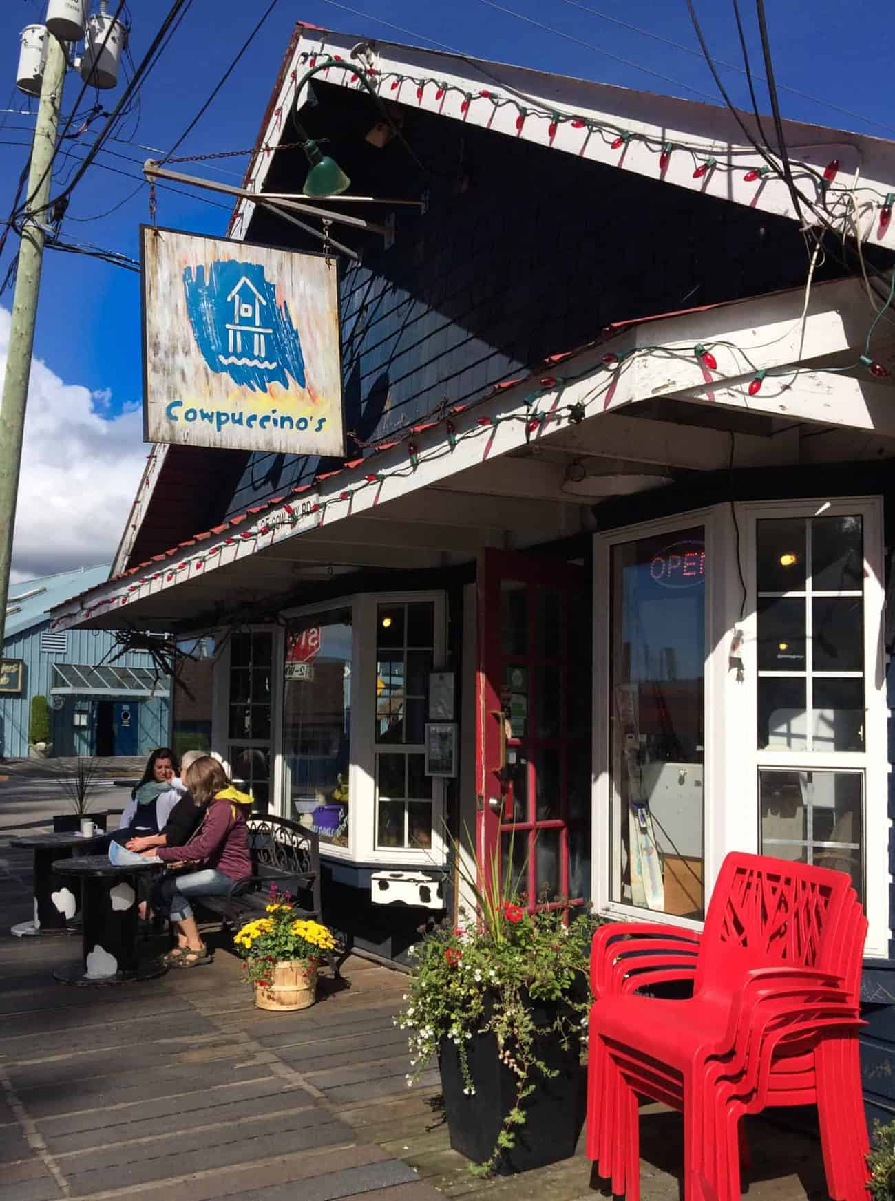 Image of Cowpuccino's Cafe in Prince Rupert, Canada