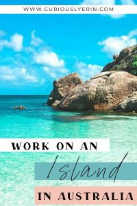 Here's how to find a job on an island on one of Australia's top islands. Find work quickly and easily. The guide includes a breakdown of all the best islands in Oz, where to find work, how to apply for jobs. Perfect for backpackers on the working holiday visa to Australia | Get paid to travel and work abroad #jobsabroad #workandtravel #whvaustralia