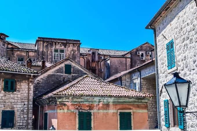 Buildings of Kotor
