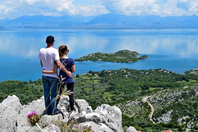 Lake Skadar National Park view