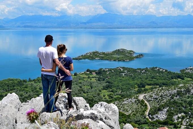 Lake Skadar National Park view