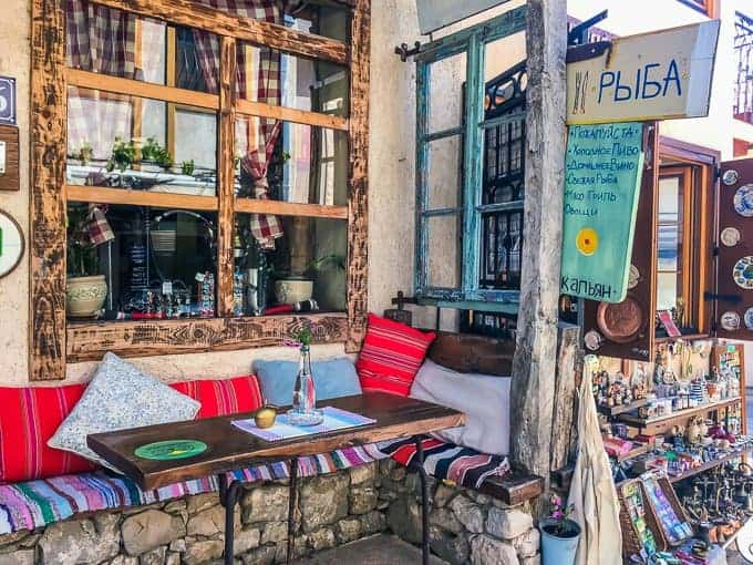 Bedem Restaurant in Stari Bar wont break the budget when backpacking Montenegro