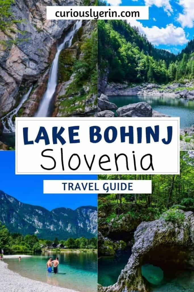 Are you looking for inspiration for a Europe holiday? Make sure you add Lake Bohinj in Slovenia to your list. Located close to Lake Bled and less than 2 hours from Ljubljana there are so many things to do in Bohinj. Find out the top things to do in Lake Bohinj here #travelslovenia #lakebohinj #bohinjslovenia
