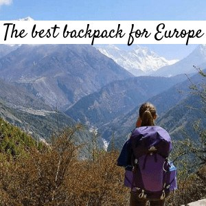 The best backpack for Europe rich snippet