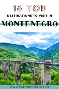 Do you want to visit Montenegro? If you are looking for the best places to travel in Montenegro this post is for you #montenegro #backpacking #europetravel #budgetdestinations