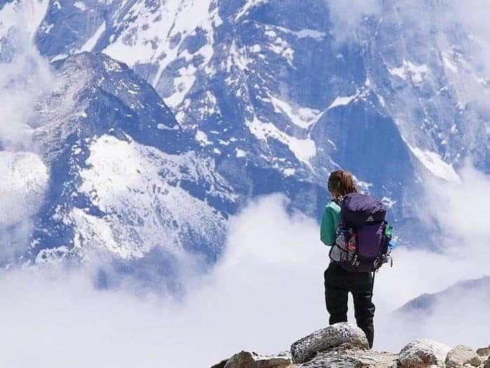 Erika's Travelventures - wearing the Gregory Jade backpack