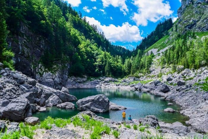 Hiking to Black Lake in Triglav National Park