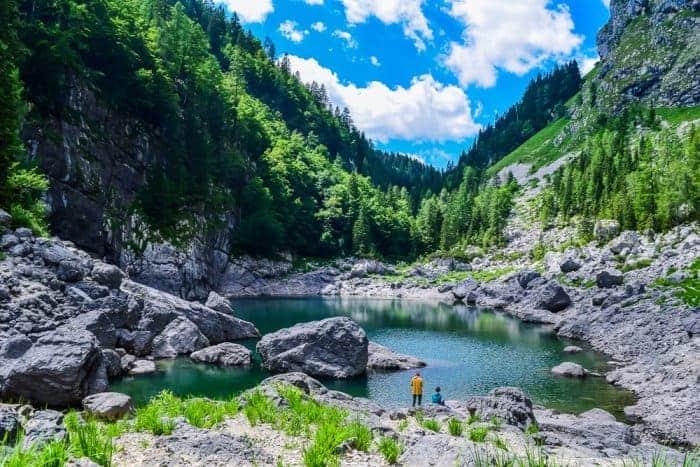 Hiking to Black Lake in Triglav National Park
