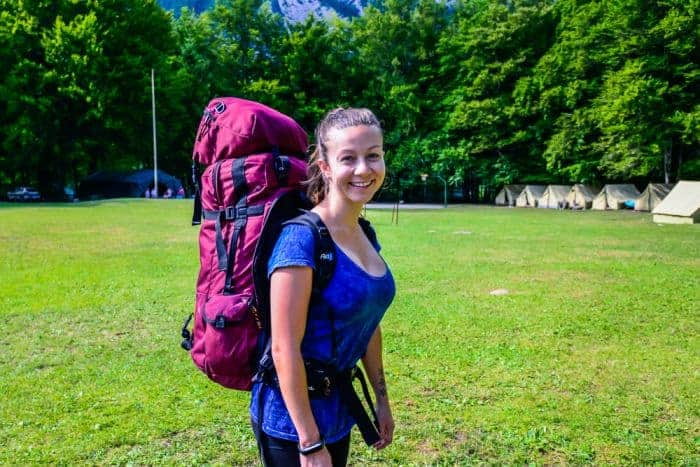 Kathmandu travel Backpack