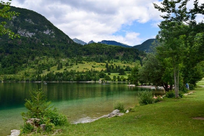 Walk around Lake Bohinj
