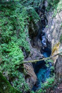 Mostnica Gorge Slovenia
