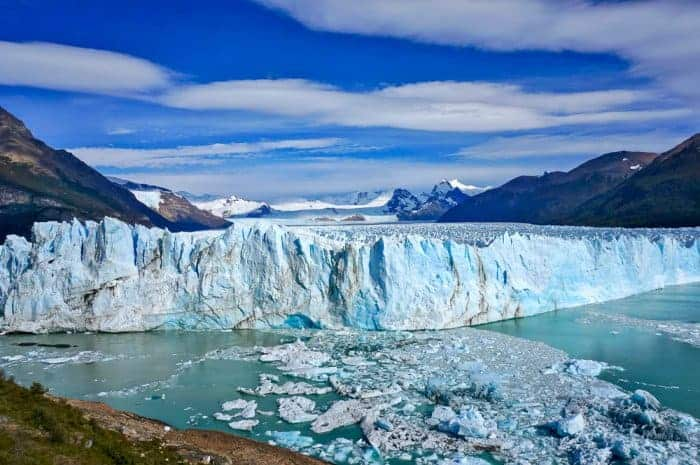 Perito Mereno Glacier, Patagonia is one of the places you go as a tour leader