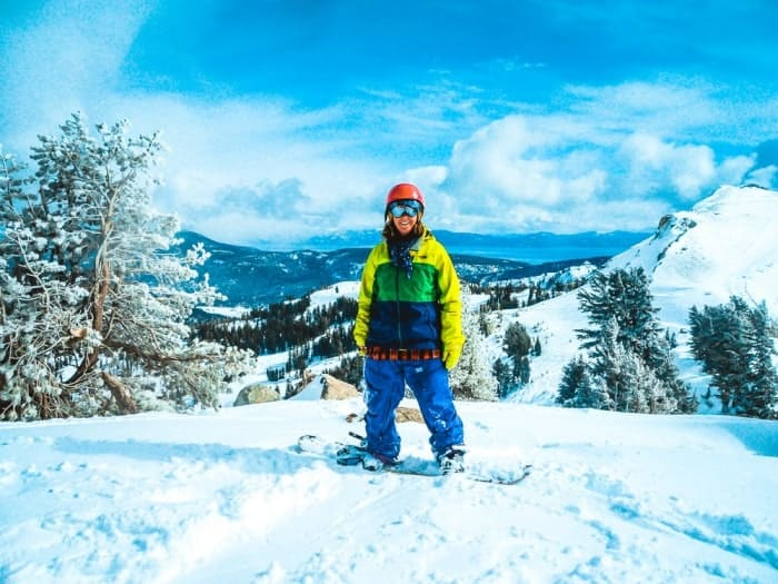 Working as a snowboard instructor pre tour leading days