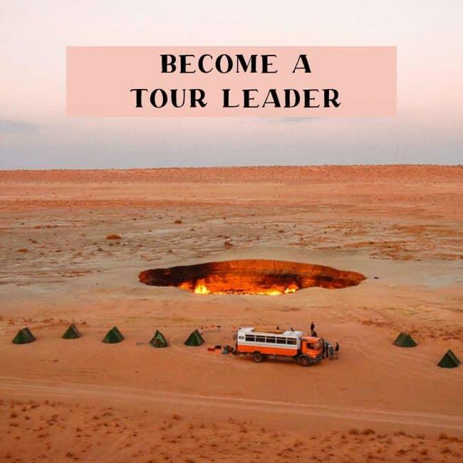 Tour leader jobs