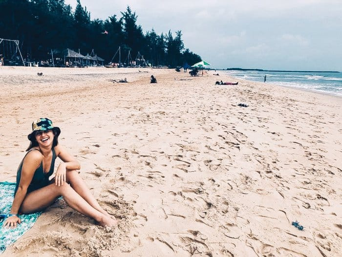 Kat just signed another year long lease near the beach in Vietnam