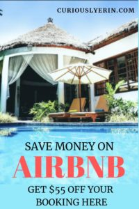 Are you heading on a trip soon? Before you book your accommodation make sure you check out Airbnb. I've also included a $55 discount for you here. Airbnb is the main way I book accommodation and will you save money and be more budget friendly. Stay in incredible homey destinations around the world. #airbnbcoupon #traveltips #accommodation
