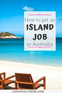 Are you looking for work while travelling Australia? Here's how to find a job on an island in Australia. Find work quickly and easily. The guide includes a breakdown of all the Australian islands, where to find work, how to apply for jobs. Get paid to travel and work abroad #jobsabroad #workandtravel #whvaustralia