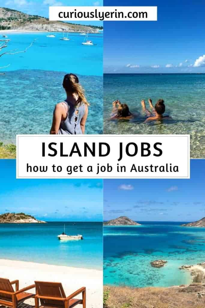 This guide includes a breakdown of the best Australian islands and how to get work on them. Info on where to find jobs advertised and how to apply for jobs. Get paid to travel and work abroad #jobsabroad #workandtravel #whvaustralia