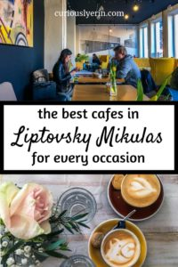 Do not miss these top 3 cafes when visiting Liptovsky Mikulas is Slovakia. Add one of these to your Slovakian agenda whether you are passing through to Jasna ski resort in the low tatras or visiting Tatralandia. #Slovakiatravel #coffeeguide #jasna