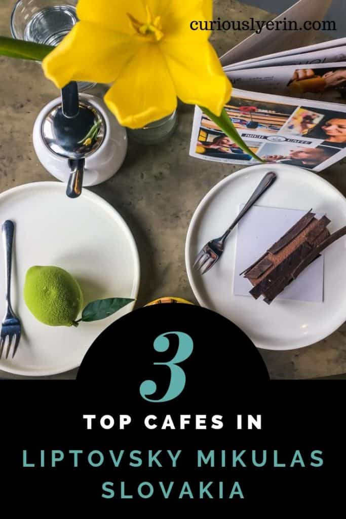 Find out the top 3 cafes in Liptovsky Mikulas, Slovakia. Located a few hours east of Bratislava and gateway to the Low Tatras National Park. These cafes are perfect for a pitstop to recharge after a full day of hiking or skiing. #Slovakiatravel #coffeeguide #jasna