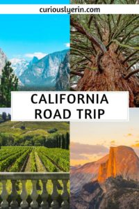 The ultimate northern California road trip itinerary and route details. Make sure to include this top California destinations including Yosemite, Sacramento, Sonoma and more to your list today. Find out the less touristy places to visit #roadtrip #californiaroadtrip #travelcalifornia #californiausa