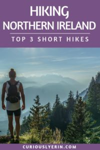 The best hikes to do in Northern Ireland. Make sure you add these to your Irish itinerary. These hikes are perfect for people who are limited on time or have a lower level of fitness. Find out which hike can be access from Belfast and how to get the best views over the city #belfast #hiking #northernireland