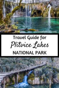 Plitvice Lakes National Park Croatia is a must visit location. This guide has all the Plitvice Lakes tips and information. It will be the only resource you need for your visit. See the iconic Plitvice Lakes National Park waterfalls and whether Plitvice Lakes winter is worth visiting.#PlitviceLakes #TravelCroatia #PlitviceLakesNationalPark