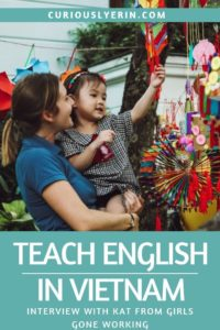 Here are the things you need to know about teaching English in Vietnam. Kat from Girls Gone Working has been living and teaching English in Vietnam for over a year and tell you how to get a job in Vietnam, visa information, about finding teaching schools and what life in Vietnam is like #TEFL #TESOL #Teachingenglish #Vietnam""
